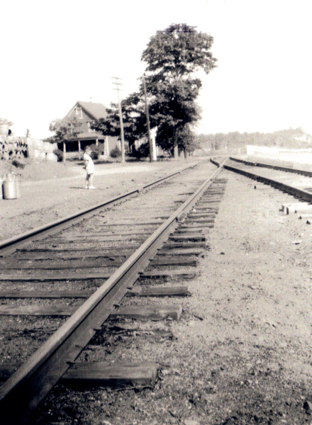"Briggs House looking over Tracks Early 1930""s"