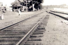 """Briggs House looking over Tracks Early 1930""""s"""